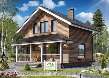 Каркасный дом 6х8 под ключ в Санкт-Петербурге - проекты и цены на строительство домов 6 на 8 - Дачный Сезонchevron-downEnvelopeprintStarplus